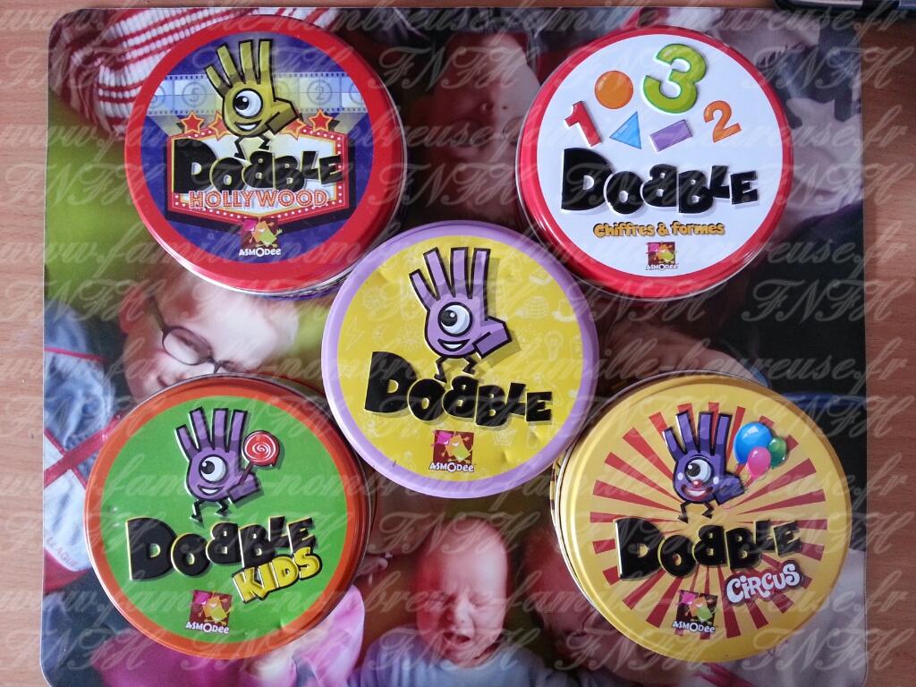 Les jeux Dobble c'est trop génial !!! avec Asmodee