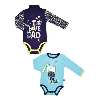 lot-de-2-bodies-bebe-garcon-manches-longues-daddy (1)