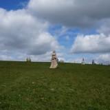 La vallée des Saints aux statues géantes