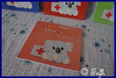 Kamala le petit koala et les livres J'ai Bobo Là