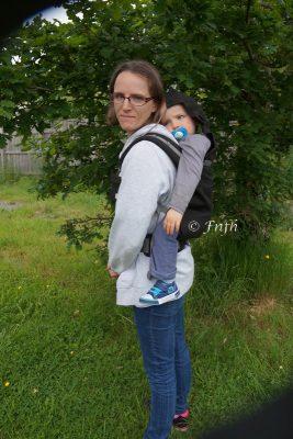 Le P4 porte bébé préformé de Ling Ling d'Amour