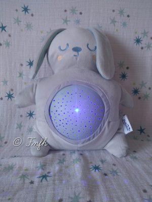 Mimi Bunny la peluche à câliner qui aide les enfants à s'endormir