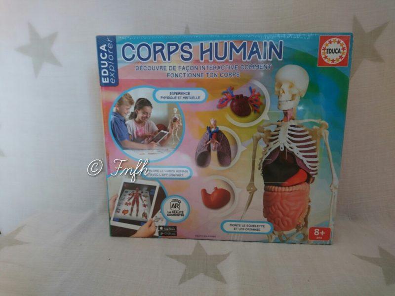 A la découverte du corps humain avec Educa