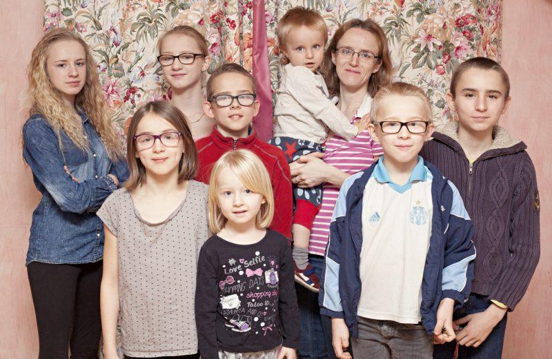 Avec la ShootingBox une séance photo en famille