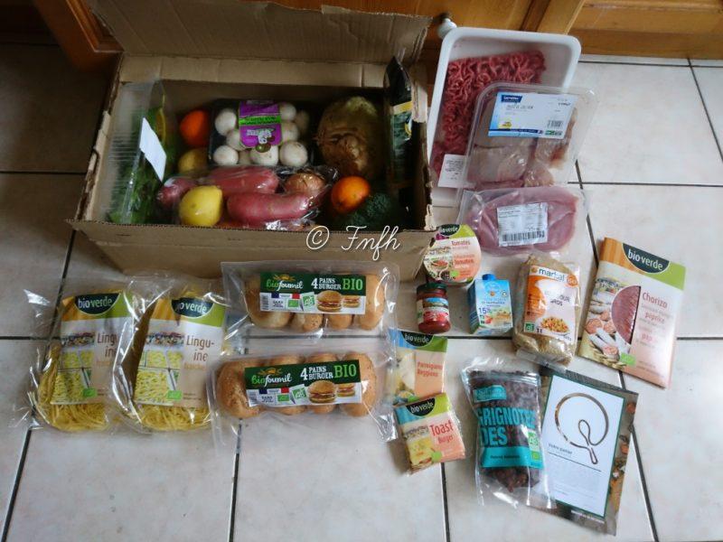 Ils vous livrent et vous cuisinez avec la Box Quitoque