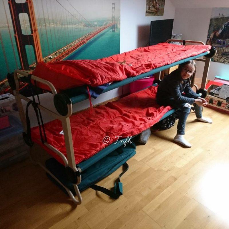 Des lits superposés de voyages vraiment indispensable pour nous et nos sorties