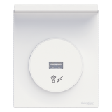 les prises Odace Styl Pratic USB de chez Schneider Electric