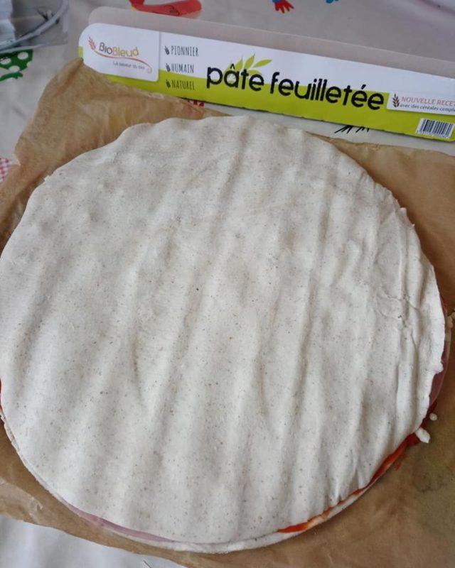Soleil version salé ou sucré avec la pâte feuilleté Biobleud