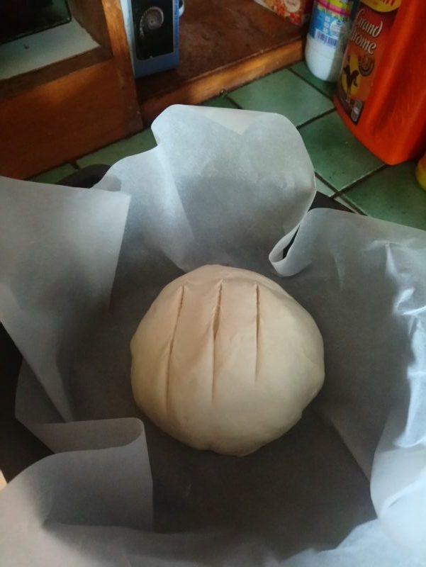 Pain baguette Cocotte Express au Thermomix