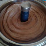 Glace au chocolat noir avec la turbine Gelato de Magimix