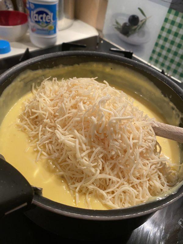 Recette du Soufflé au fromage pour 4 personnes avec FNFN