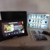 Mes recettes de cuisine avec la tablette QOOQ Ultimate