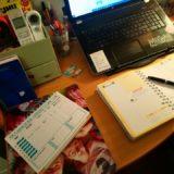 Mon bureau de maman Blogueuse organisée